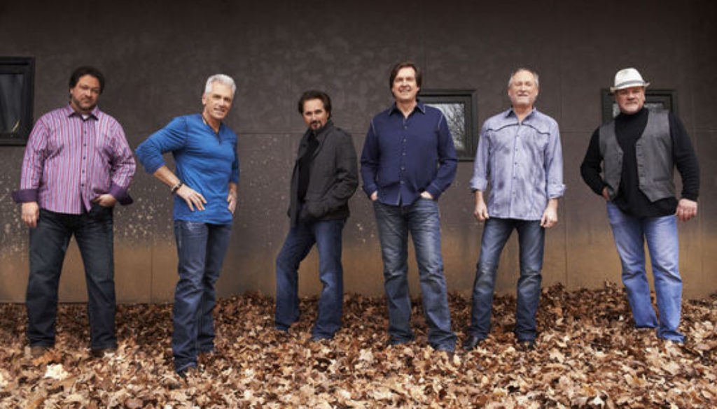Diamond Rio (l to r): Dana Williams, Jimmy Olander, Marty Roe, Dan Truman, Gene Johnson, Brian Prout Photo credit: Russ Harrington